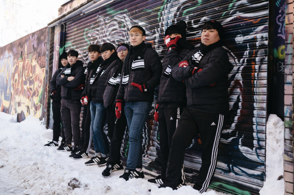 We spoke with some of the players from the Defiant to hear about their first impressions of the Canada and what it means to represent the Great White North. (Photo courtesy the Toronto Defiant)