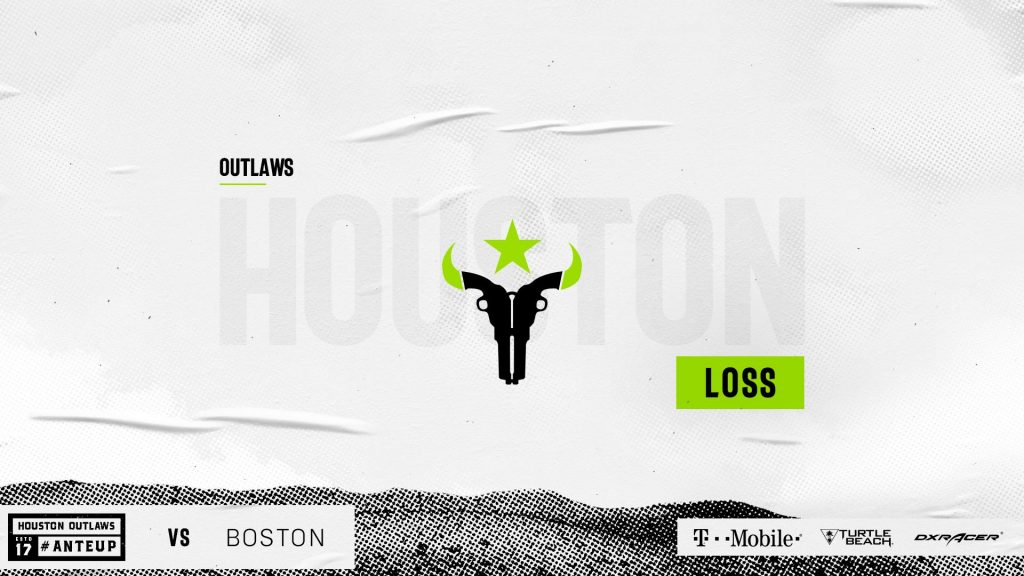 The Houston Outlaws just don't seem to have that clutch gene. The Outlaws have now lost seven consecutive series that go to a decisive Map 5.