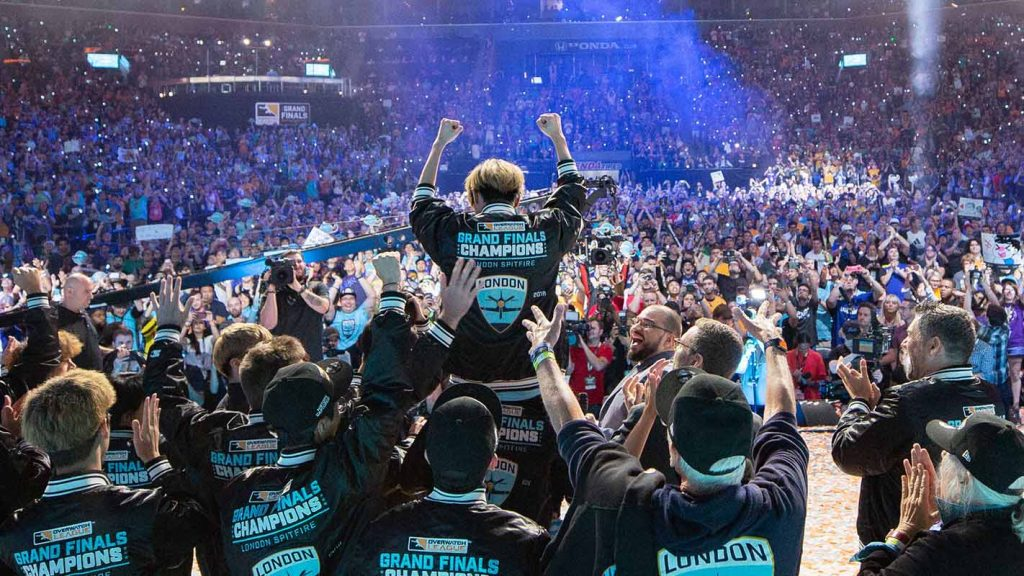 The London Spitfire emerged from the inaugural season as the Grand Finals winner - but who will win it all in season two? (Photo courtesy of Blizzard Entertainment)