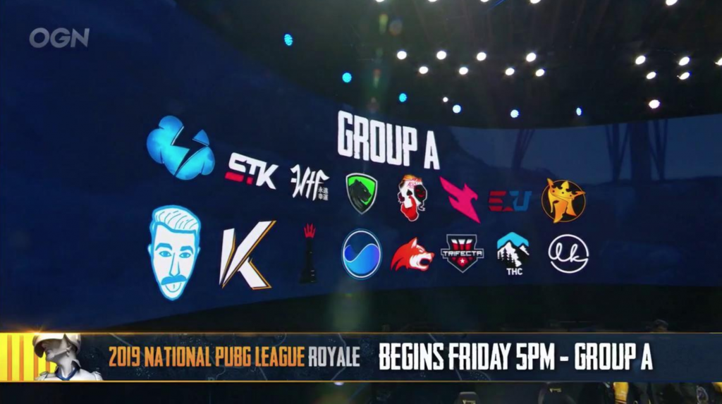 PUBG's upcoming North American NPL Royale will see the league's teams competing against NPL Contenders teams for $80,000 USD in prize money (Photo courtesy of OGN)