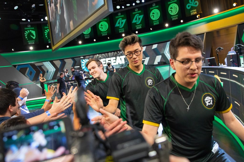 In LCS Week 8, FlyQuest surprised many by upsetting Team Liquid. (Photo courtesy of Riot Games)