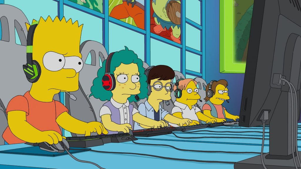 The Simpsons ventures into esports with Bart competing at a LoL-like title.