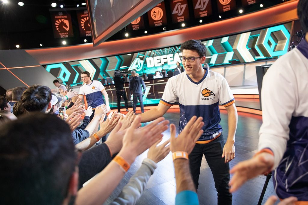 Echo Fox clinched their LCS Playoffs spot just in time. (Photo courtesy of Riot Games)