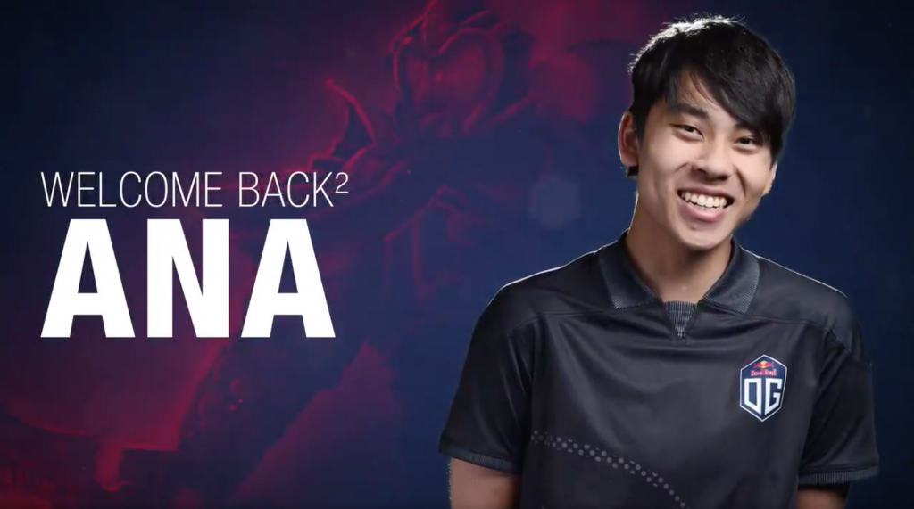 ana, The nineteen-year-old Australian carry player, is now doing his third tour with OG.