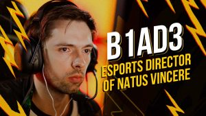 B1ad3 Appointed Esports Director of Na'Vi