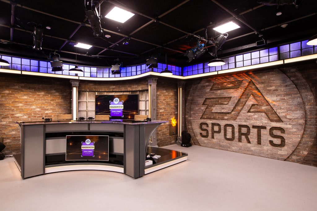 The new EA studio will become the new home of many events on the Madden circuit beginning with the Madden NFL 19 Challenge.