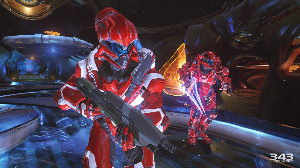 Halo competitive red team