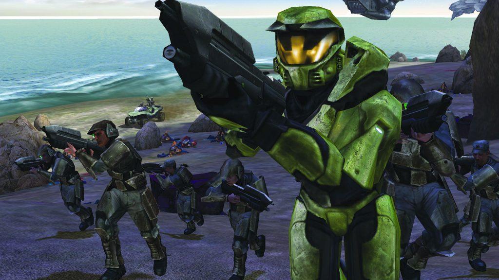 Halo 1 Master Chief