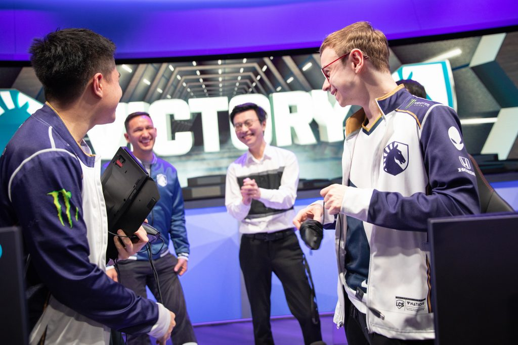 With a Liquid victory, they take a two-game lead and the tiebreaker over C9 (Photo courtesy of Riot Games)