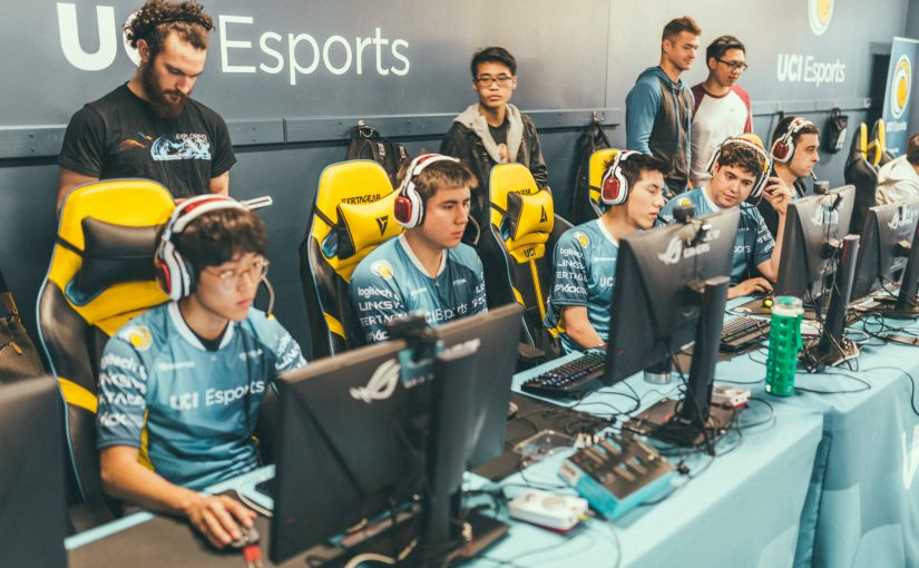 UCI finds themselves as the lone No.1 seed left in the League of Legends regional finals. (Photo courtesy of UCI)