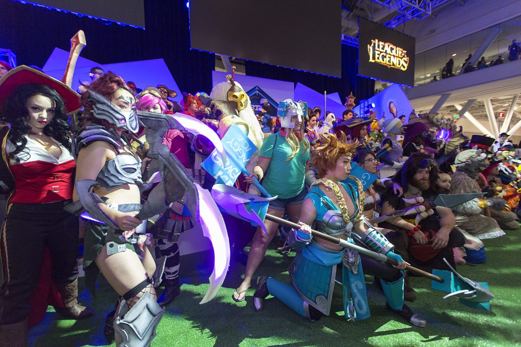 Riot Games will be holding their traditional League of Legends cosplay contest at PAX East (Photo courtesy of League of Legends Imgur)