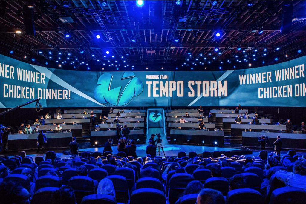 PUBG arena Temp Storm