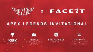 T1 and FACEIT Announce $25K Apex Legends Tournament