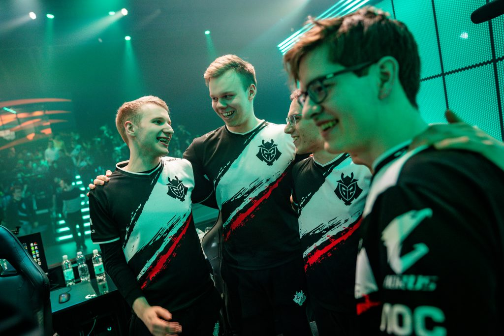 G2 Esports are through the LEC Finals. (Photo courtesy of Riot Games)