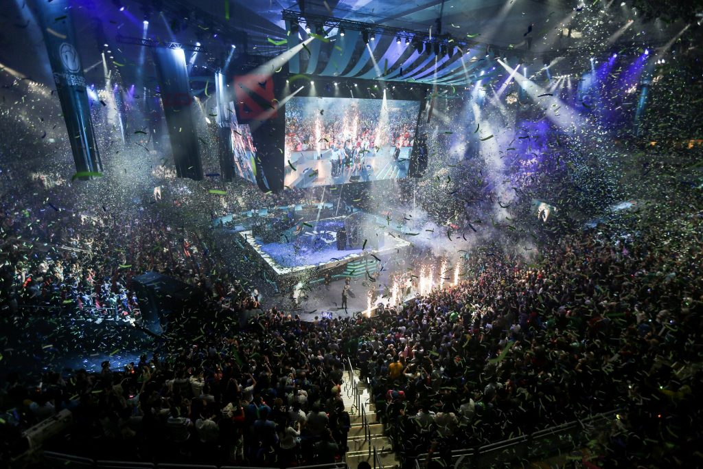 Events like Dota 2's The International require people with a range of talents to produce. (Photo courtesy of Valve)