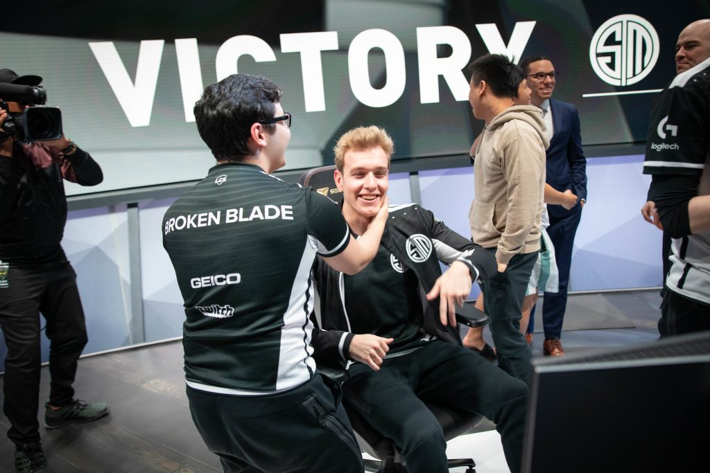 TSM advance to the Finals in the LCS Spring Playoffs 2019. (Photo courtesy of Riot Games)