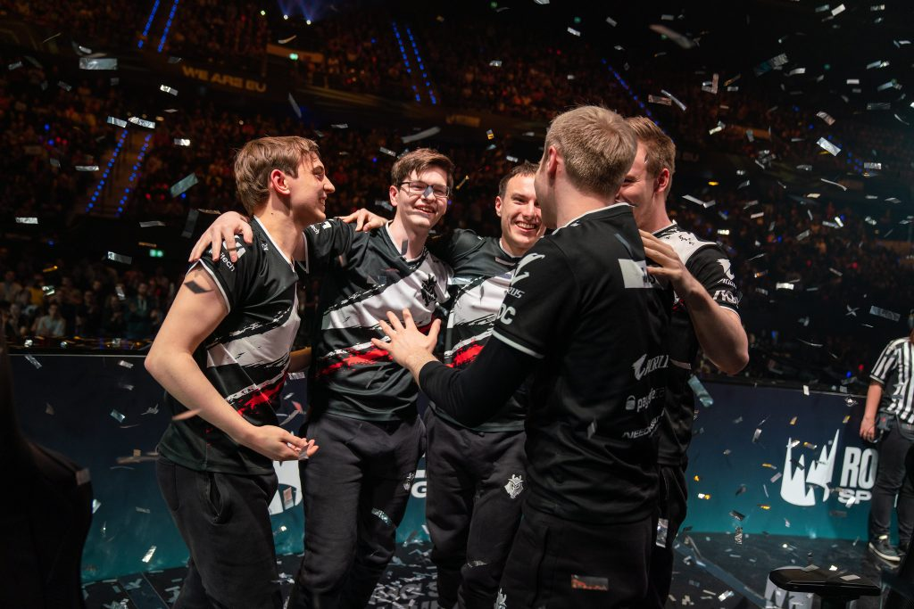 G2 Esports established their dominance in the LEC's Spring Split Finals. (Photo courtesy of Riot Games)