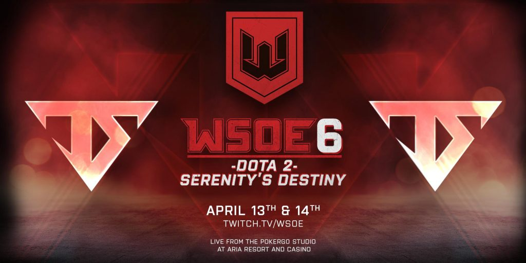 WSOE #6 is one of several tournaments filling a brief gap in the Dota 2 Pro Circuit schedule. (Image courtesy of @WSOE / Twitter)