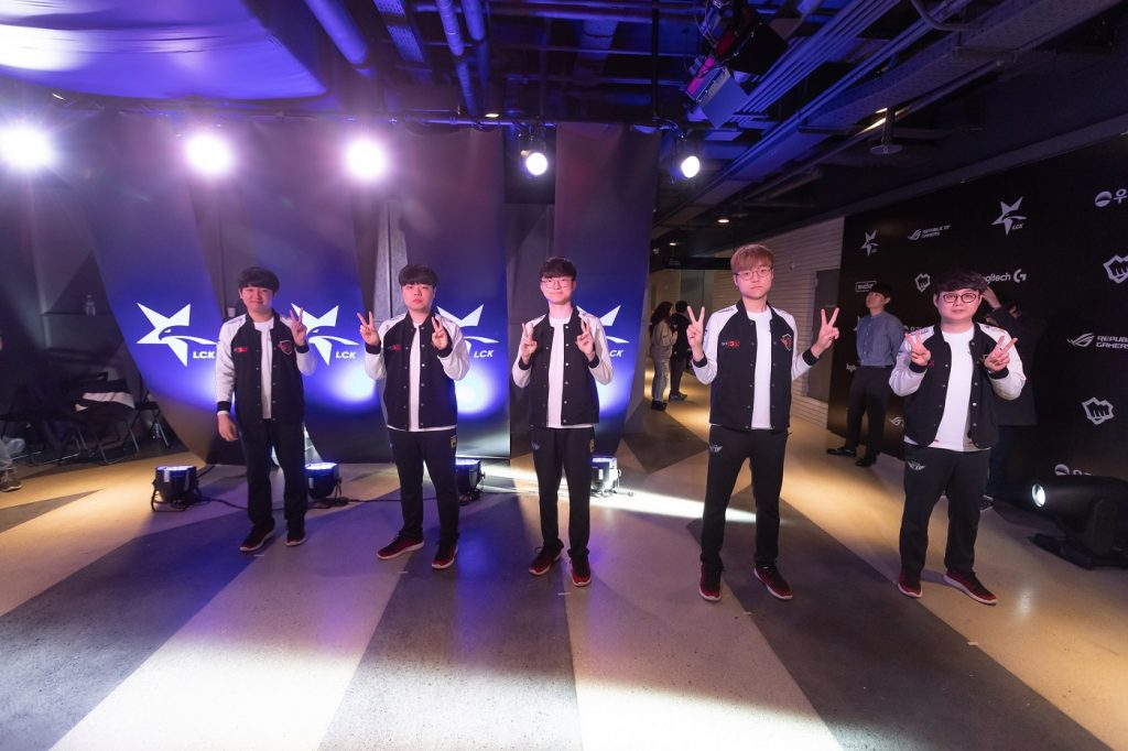 SK Telecom T1 are peaking just in time for the LCK Spring Playoffs 2019. (Photo courtesy of League of Legends Champions Korea LCK / Flickr)