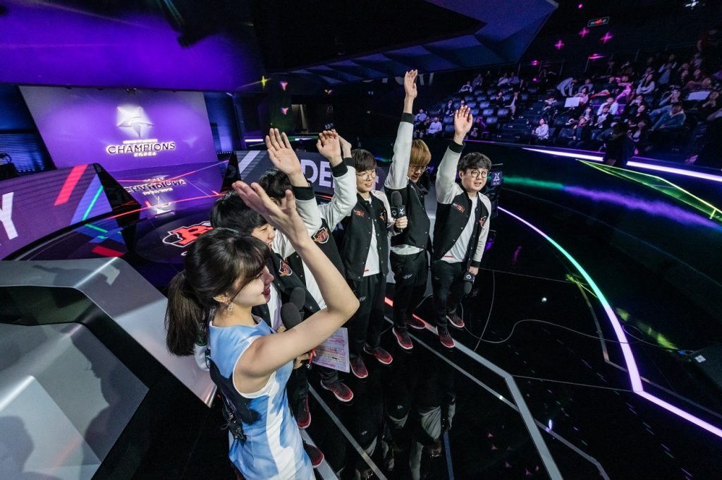 SK Telecom T1 came out on top of all the sweeps in the LCK Spring Playoffs - so far. (Photo courtesy of League of Legends Champions Korea LCK / Flickr)