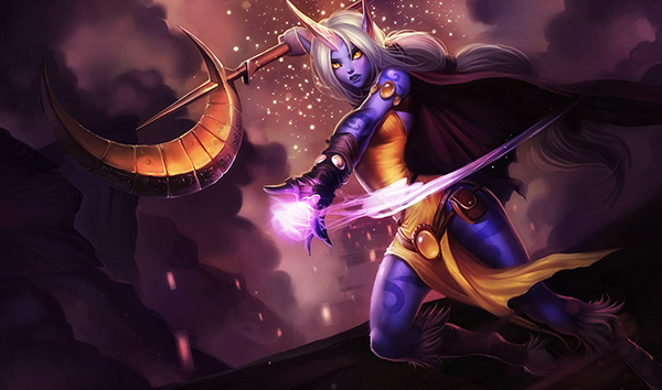 Soraka's healing abilities make her an excellent champion for beginning players (Image via Riot Games)