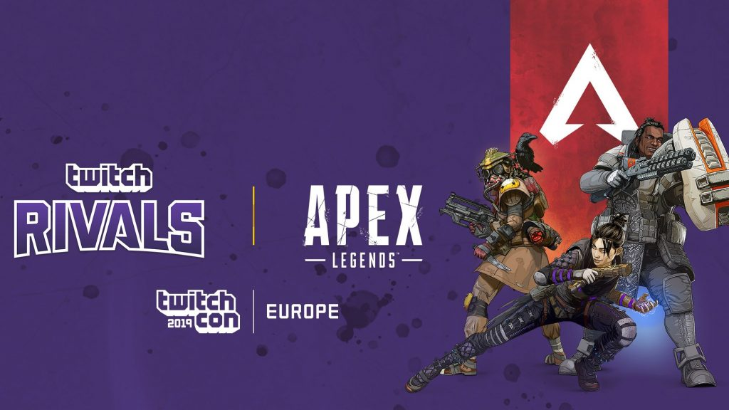 Apex Legends Twitch Rivals Showdown became the first LAN Rivals event, at TwitchCon Europe. (Image courtesy of Twitch)