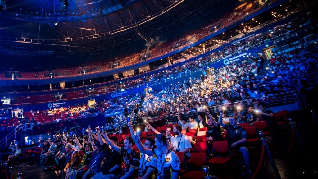 IEM Sydney will see teams compete in the Qudos Bank Arena for playoffs, May 3-5. (Photo courtesy of ESL)