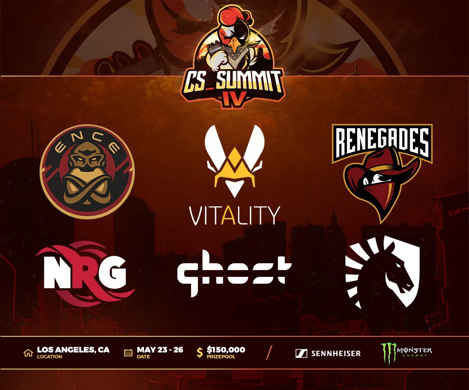 Beyond the Summit will host some of the world's best CS:GO teams for cs_summit 4. (Image courtesy of Beyond the Summit)