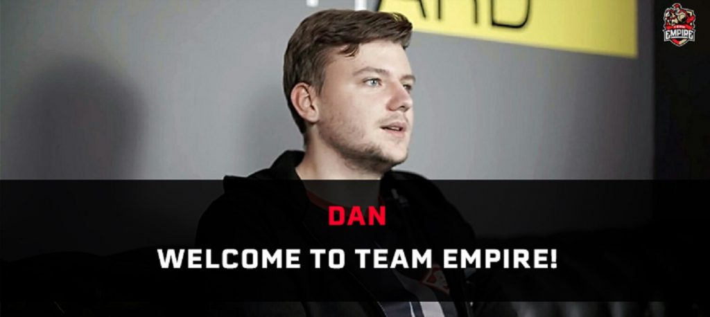 Shockwave leaves Team Empire's Rainbow 6 squad, replaced by dan. (Image courtesy of Team Empire)