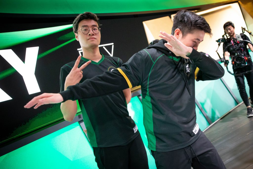 After squeaking out a win in the quarterfinals, FlyQuest will face Team Liquid in the semifinals (Photo courtesy of Riot Games)