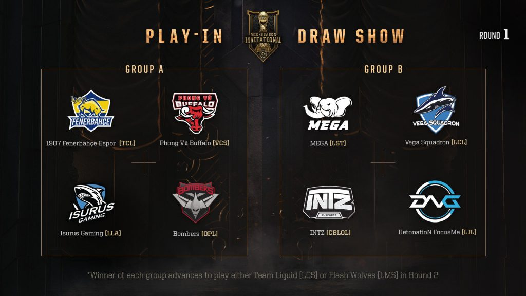 "Group A of the MSI Play-In Stage appears to be the ""group of death"" with two of the favorites in the grouping. (Image courtesy of LoL Esports)"