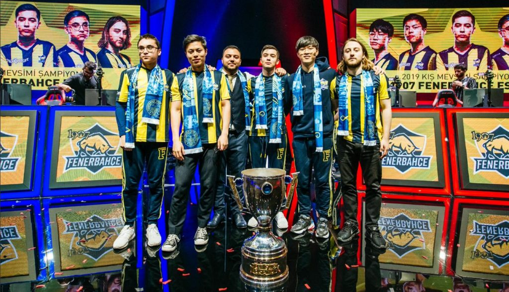 1907 Fenerbahçe will represent Turkey in the MSI Play-Ins. (Photo courtesy of 1907 Fenerbahçe)