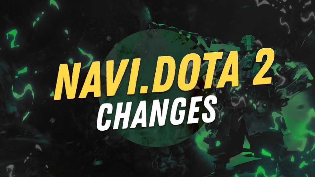 Natus Vincere makes a roster change heading into the end of the DPC season. (Image courtesy of Natus Vincere)