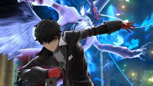 Joker, of Persona 5, joins the cast of Smash Ultimate. (Image courtesy of @NintendoVs / Twitter)