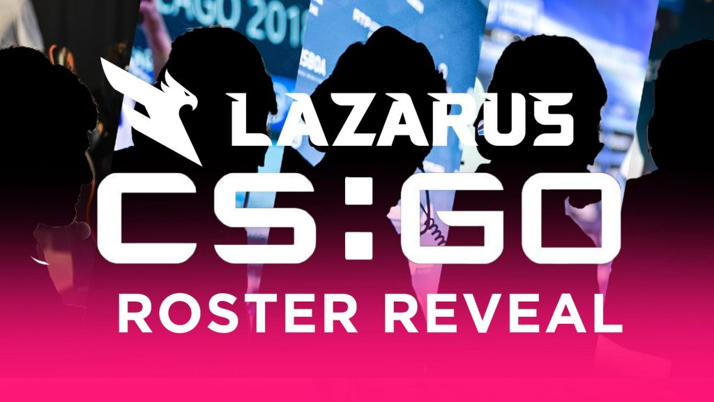 Lazarus Esports announces they've picked up the CS:GO Swole Patrol roster. (Image courtesy of Lazarus Esports)