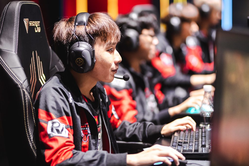 Phong Vũ Buffalo have their work cut out for them in the group stage of MSI 2019. (Photo by David Lee/Riot Games)