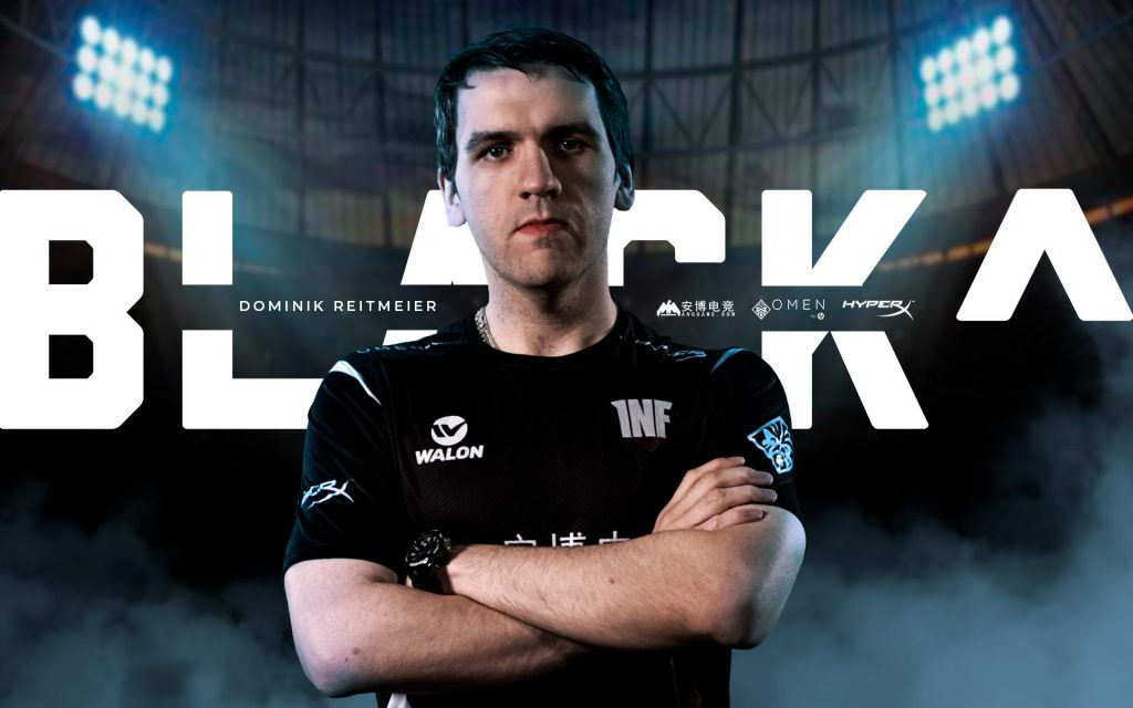 Black^ moving to Infamous is just one of several Dota 2 roster changes happening pre-EPICENTER qualifiers. (Image courtesy of Infamous)