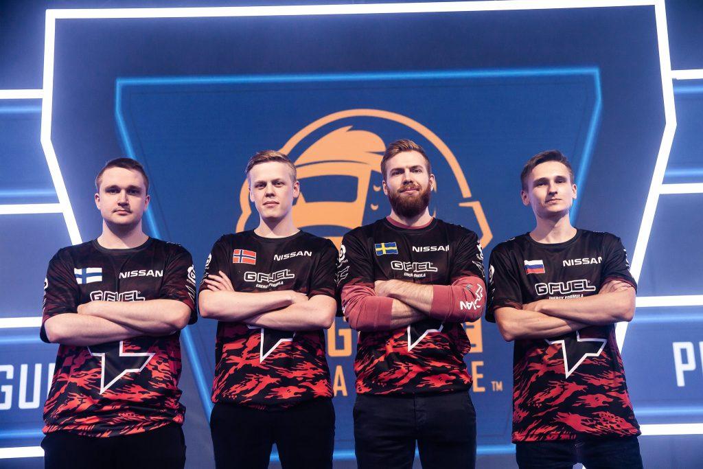 FaZe Clan in PUBG Europe League