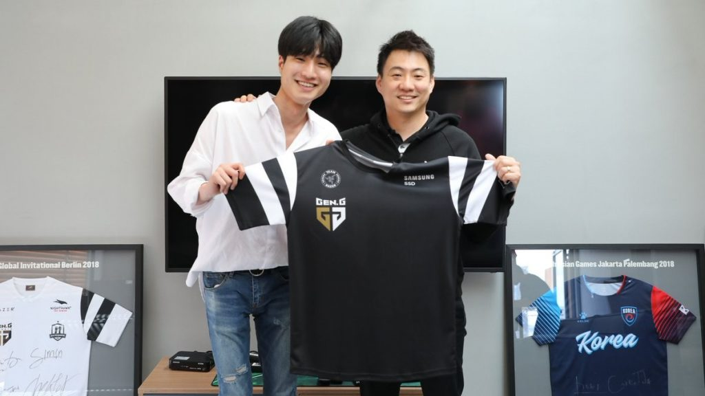 "Former ES Sharks mid laner Seong-hyeok ""Kuzan"" Lee has signed with Gen.G ahead of the LCK Summer Split. (Image via Gen.G)"
