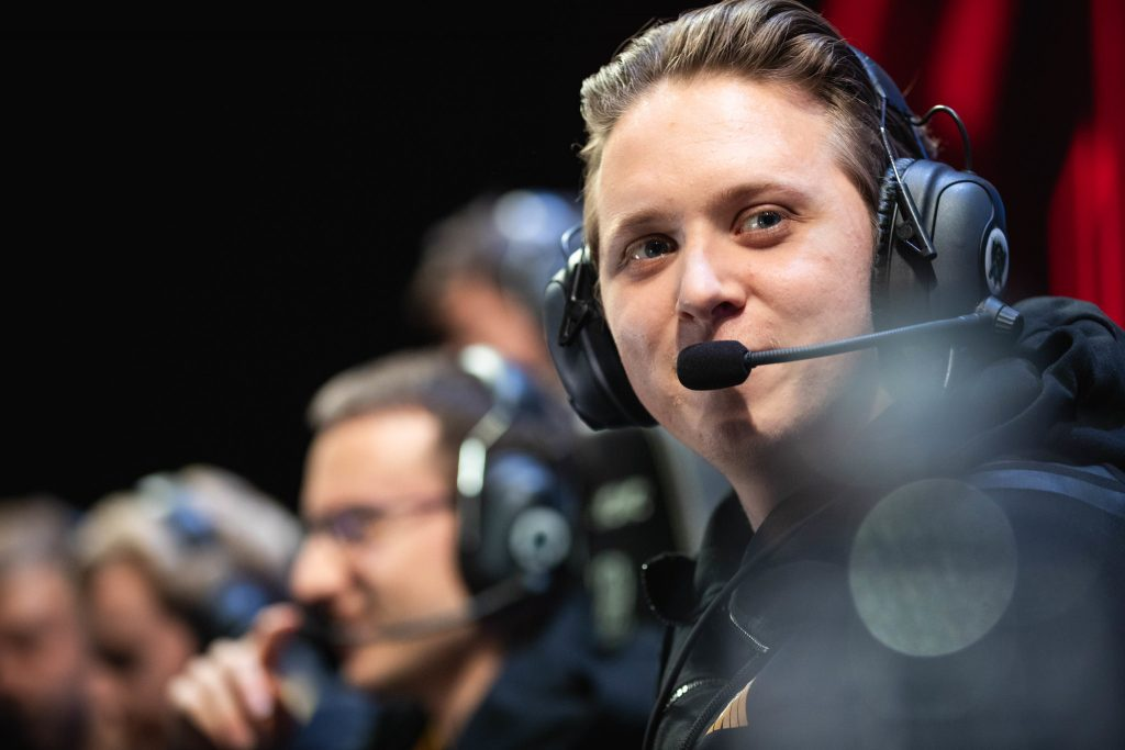 "After missing the opening split of the new European Championship, world semifinalist Petter ""Hjarnan"" Freyschuss is set to return to the LEC with Excel Esports. (Photo courtesy of Riot Games)"