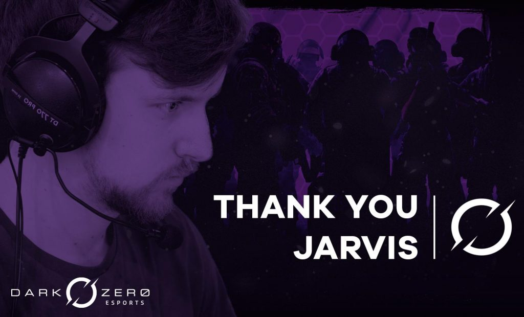 DarkZero has swapped Jarvis for Hyper in their Rainbow Six Siege Roster. (Image courtesy of DarkZero)
