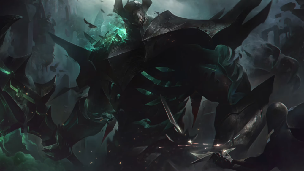 League of Legends' Mordekaiser gets a new look to go with his new abilities. (Image courtesy of Riot Games)