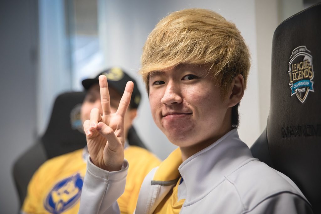 """Son """"Mickey"""" Young-min last played top level League of Legends with Golden Guardians in the LCS. (Image via Riot Games)"""