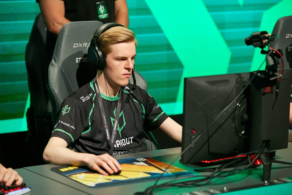 "Niels-Christian ""NaToSaphiX"" Sillassen joins Heroic's CS:GO team after a period of free agency. (Photo courtesy of StarLadder)"