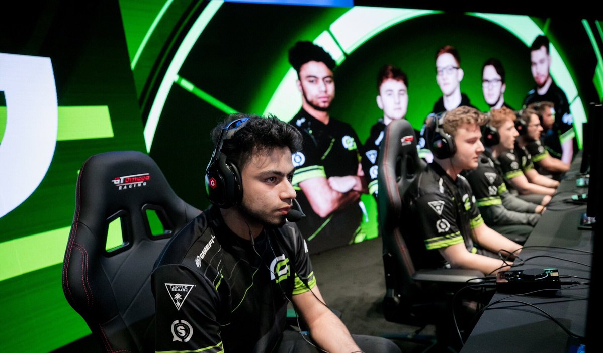 OpTic Gaming at CWL London