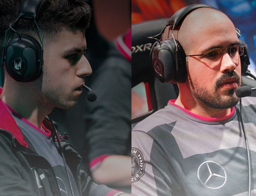 SK Gaming make a roster swap heading into the LEC Summer Split. (Image courtesy of SK Gaming)