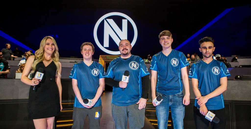 Team Envy turned heads at NPL Royale. (Photo courtesy of PUBG Esports)