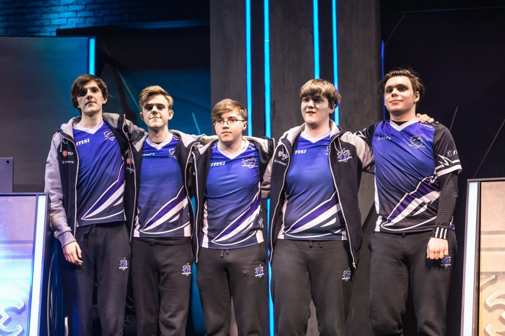 Vega Squadron at MSI. (Photo by David Lee/Riot Games)