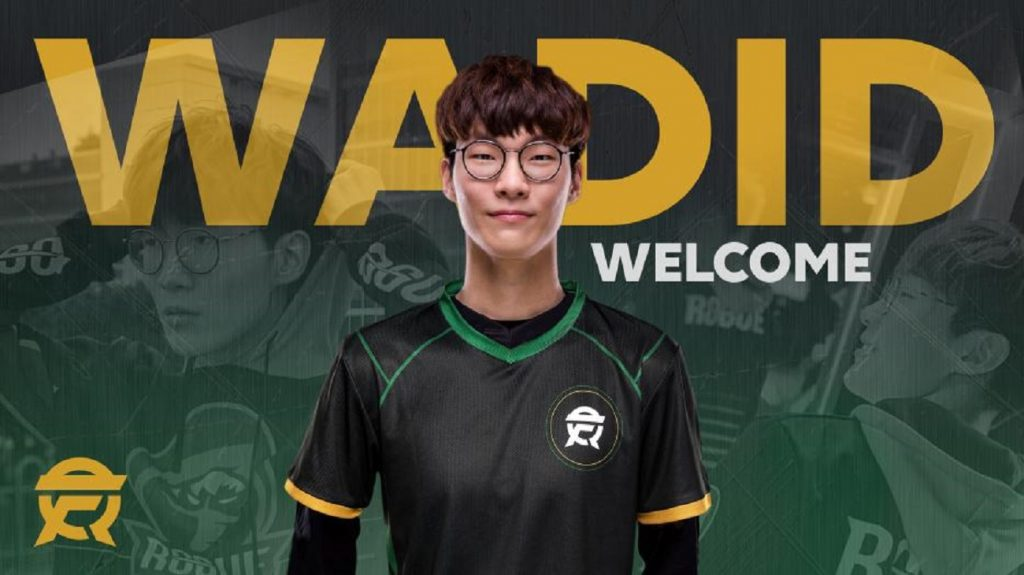 "Rogue have traded support Kim ""Wadid"" Bae-in to FlyQuest for mid-laner Marcin ""Selfie"" Wolski. (Image courtesy of Flyquest)"
