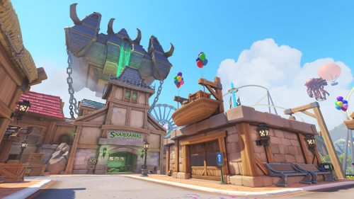 Blizzard World gives fans a glimpse at an amusement park with Blizzard games as the theme. (Image courtesy of Blizzard)
